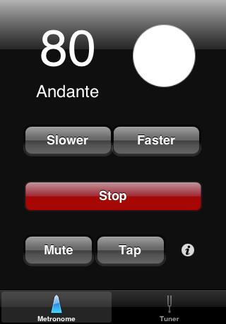 Orfeo | iPhone Tuner and Metronome