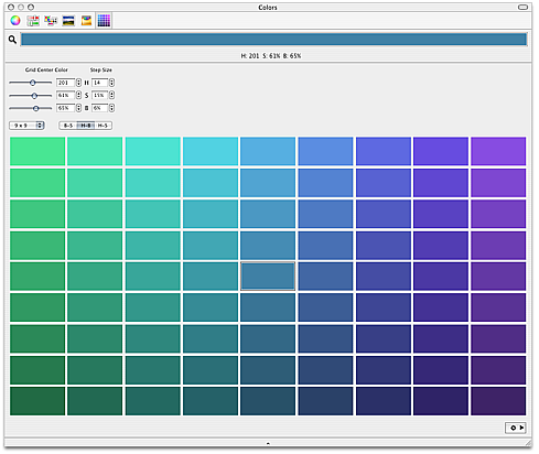 Shades macintosh color picker for Shades of all colors